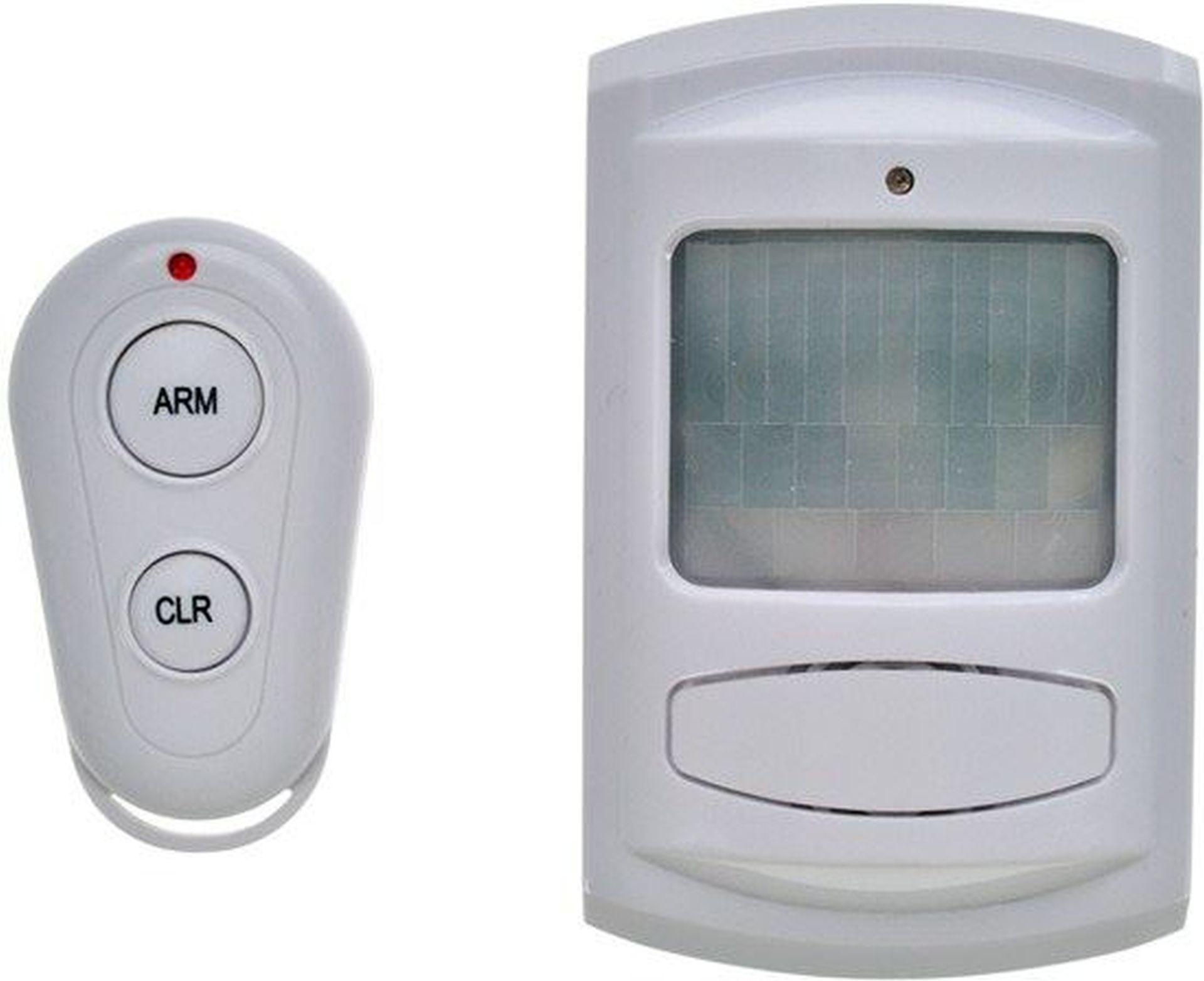 SOLIGHT GSM Alarm, pohybový senzor, dálkový ovladač, bílý 1D11