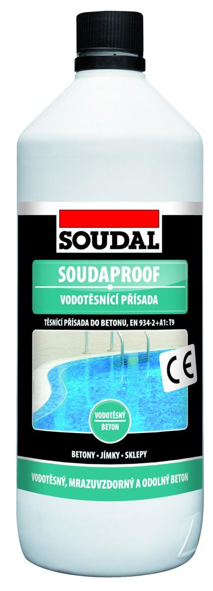 SOUDAL SOUDAPROOF vodotěsnící přísada 1 L