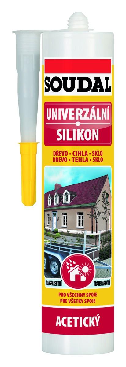 SOUDAL univerzální silikon 280 ml, hnědá