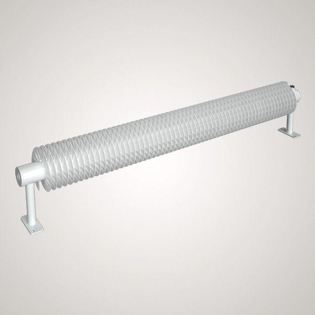 ISAN SPIRAL RA1 radiátor na zem sněhově bílá (RAL 9016) 1000/32x2x92 ZRA132092100F01