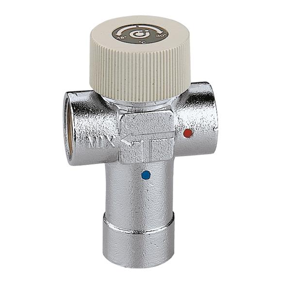 """Caleffi CA 520 termostatický směšovací ventil 3/4"""", PN 10, (30-48°C) 520530"""
