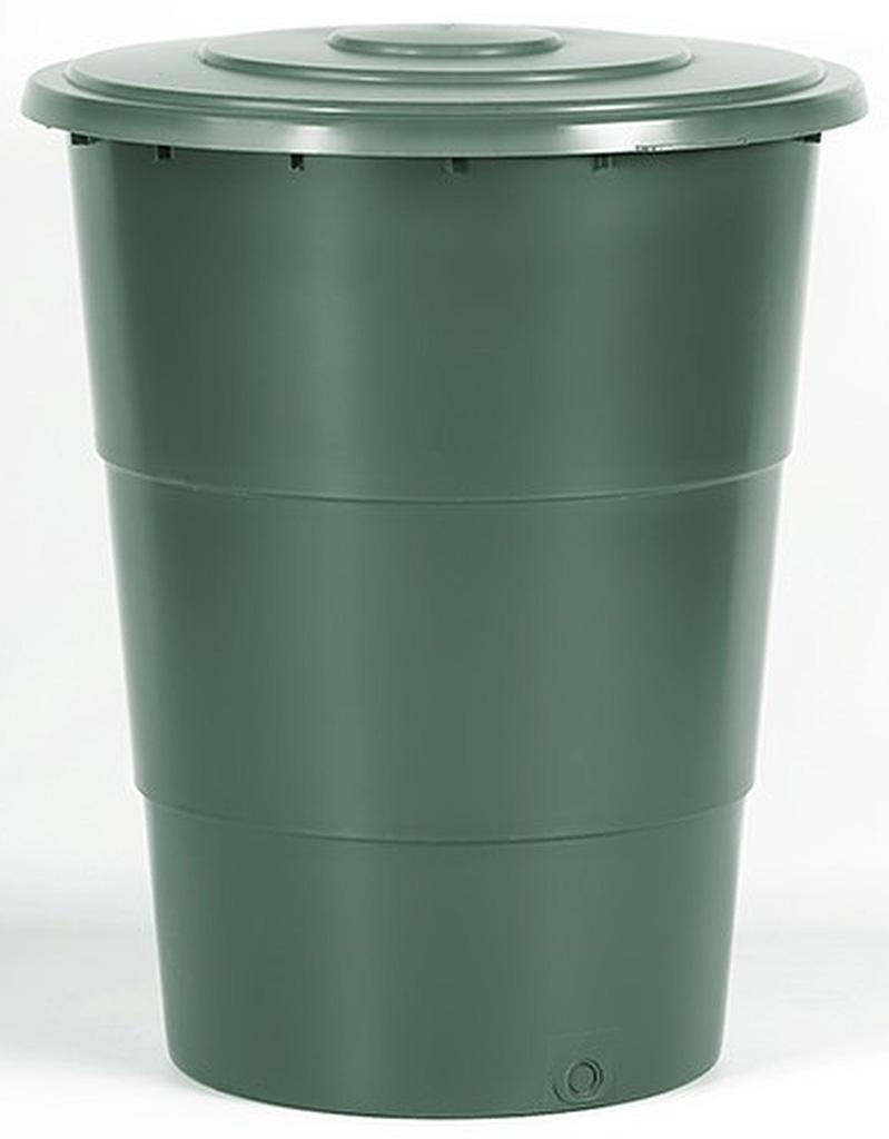 Prosperplast CLASSICAN Sud na dešťovou vodu s víkem 200l, zelená IDET200