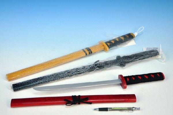 WIKY Ninja Meč, dřevo, 53cm, 3 různé barvy 49110646