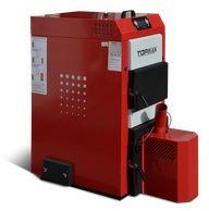 TOPmax Top-Pellet Dual 20 Automatický kotel na pelety a dřevo, zásobník 540L TOP433-20-540