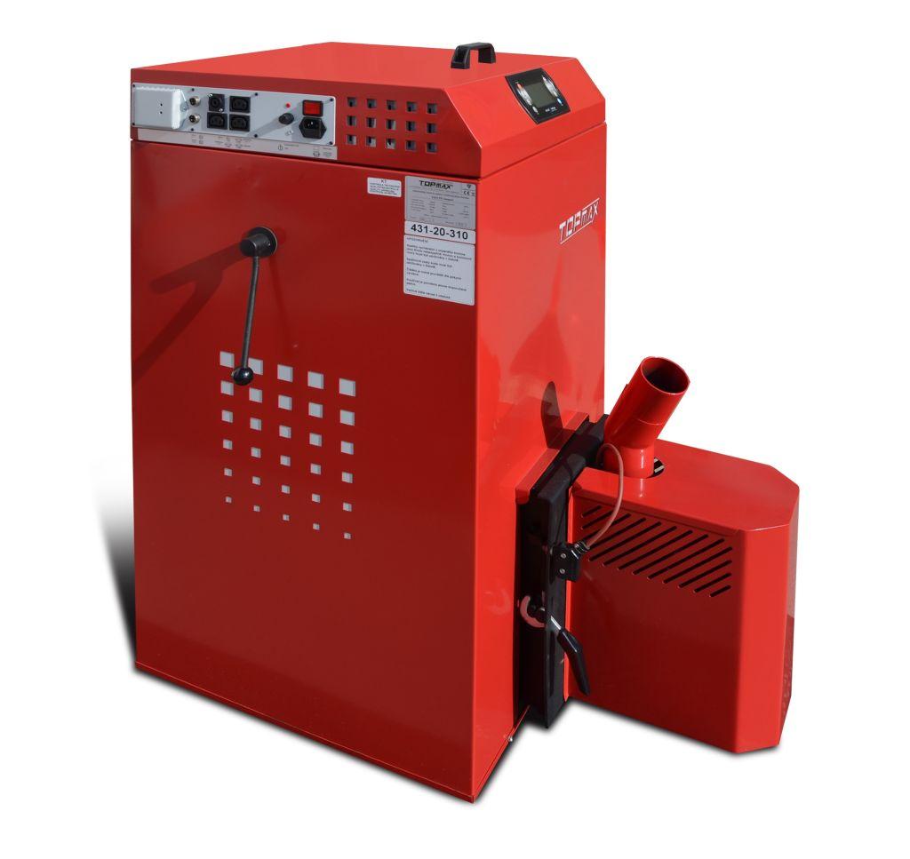 TOPmax Top-Pellet Compact 18 Automatický kotel na pelety, zásobník 310l TOP432-20-310