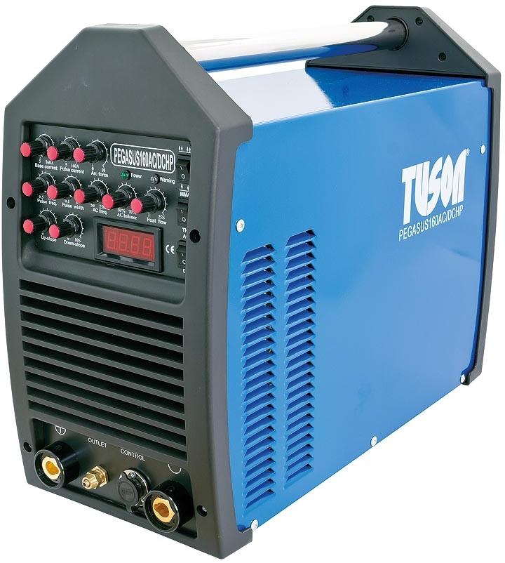 TUSON - Jednofázová svářečka PEGASUS 160 AC/DC HP