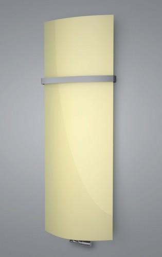 ISAN VARIANT GLASS skleněný designový radiátor 1810/620 pastel yellow DGAG 1810 0620 S