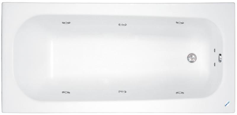 TEIKO Vana Klasik 120 obdélníková 120 x 70 cm - HTP systém ECO HYDROAIR V213120N04T01231