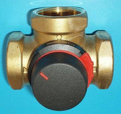 "ESBE VRG 231 směšovací ventil, RP 3/4"", DN: 20, KVS: 6,3 m3/hod 11620100"