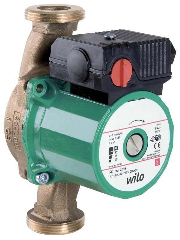 WILO Star-Z 25/2 EM PN10 Cirkulační čerpadlo 4029062