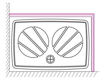 RAVAK panel Gigant Pro 100x80 SET R white XA83AP01010